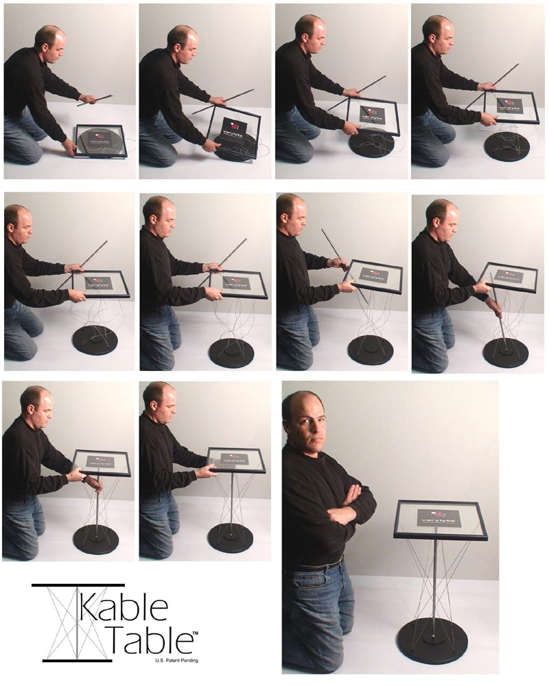 Kable Table Assembly - Visual Sequence
